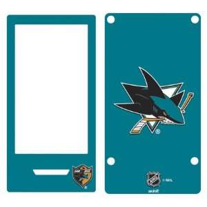 San Jose Sharks Solid Background skin for Zune HD (2009