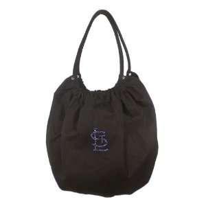 MLB St. Louis Cardinals Canvas and Crystal Team Tote Bag