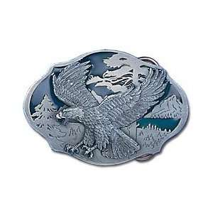 Pewter Belt Buckle   Flying Eagle Sports & Outdoors