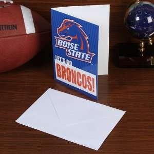 NCAA Boise State Broncos 5 x 7 Musical Card