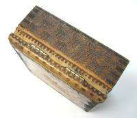 BOX CASE HOLDER BULGARIA FOLK NATIONAL PYROGRAPHY SEE »