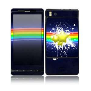 Rainbow Stars Design Decorative Skin Cover Decal Sticker for Motorola