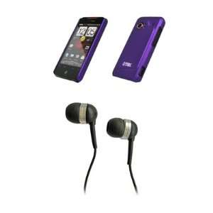 HTC Droid Incredible Premium Purple Rubberized Stealth