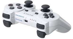 NEW Sony PS3 Rapid Fire Modded Controller 8 Mode Limited WHITE