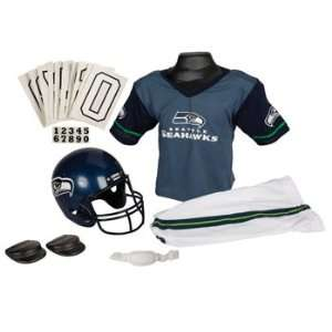Seahawks Football Deluxe Uniform Set   Size Small