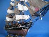 USS Constitution 50 Huge Tall Ship Model Wooden Boats