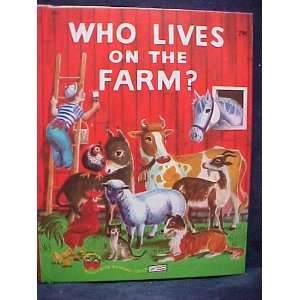 Who Lives on the Farm Mary Elting Books