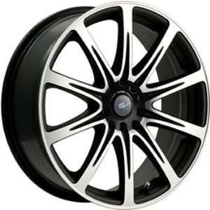 ICW Euro 16x7 Machined Black Wheel / Rim 4x100 & 4x4.25 with a 42mm