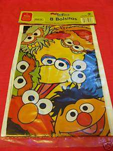 SESAME STREET ELMO LOOT BAGS TREAT PARTY SUPPLIES