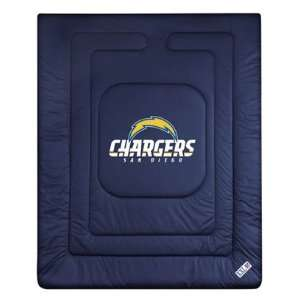 San Diego Chargers Bedding   Locker Room Comforter