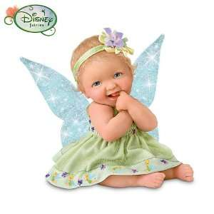 Disney Miniature Tinker Bell Themed Baby Doll Collection