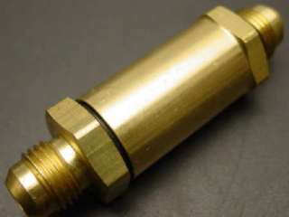 Enderle/ Hilborn fuel injection idle bypass brass valve