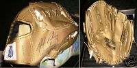 DETROIT TIGERS golden baseball glove Placido Polanco ki