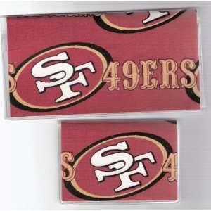 Checkbook Cover Debit Set NFL San Francisco 49ers