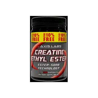 Axis Labs Creatine Ethyl Ester, 360 Caps Plus 10% FREE