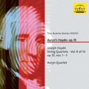 Auryns Haydn: Op. 55: String Quartets, Vol 9 of 14, Nos