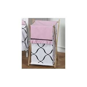 Baby/Kids Clothes Laundry Hamper for Pink, Black and White