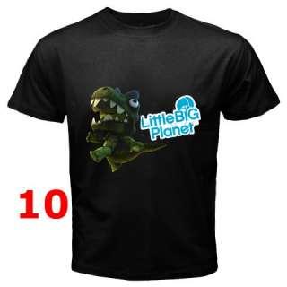 Little Big Planet LBP Black T Shirt S 3XL   Assorted