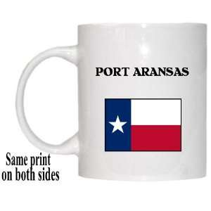 US State Flag   PORT ARANSAS, Texas (TX) Mug Everything