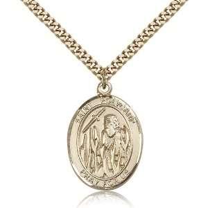 com Genuine IceCarats Designer Jewelry Gift Gold Filled St. Polycarp