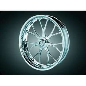 Heathen   Wheel, Tire, & Disc Kits, Chrome, 09 Models