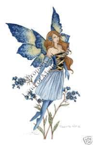 FORGET ME NOT 2 Amy Brown Fairy Print Fairies Faery