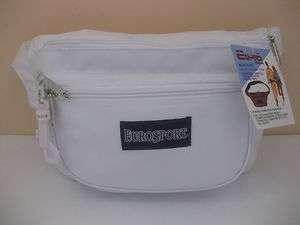 Brand New EURO White Waist Belt Bag Pouch Fanny Packs