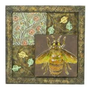 LINK DIRECT Insect Metal Wall Plaque Sold in packs of 12