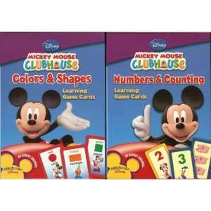 Flash Cards Disney Mickey Mouse Clubhouse Learning Game