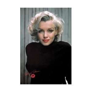 Female Personality Posters Marilyn Monroe   Black Poster