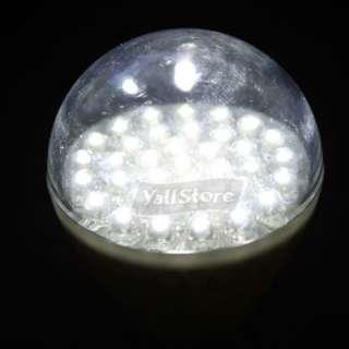 New E27 12V 1.8W 36 LED Cool White Light Bulb keychain