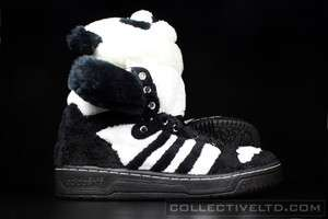 Adidas Jeremy Scott Panda Bear visvim BLACK WHITE 13