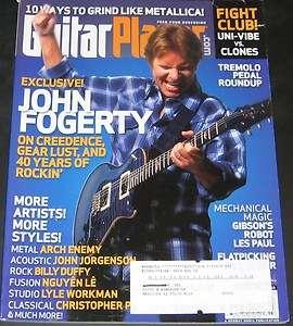 Guitar Player Magazine March 2008 John Fogerty