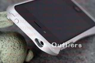 PR0490 White Aluminium Bumper Metal Case Cover for Genuine Apple