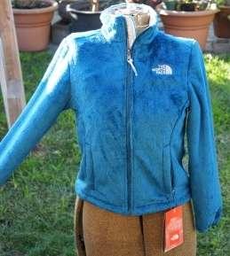 The North Face WOMENS Medium OSITO Fleece Jacket OCTOPUS Blue NWT