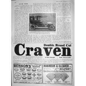 1907 VINOT FOUR CYLINDER MOTOR CAR CRAVEN TOBACCO Home