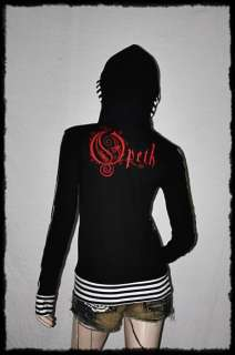Sales Opeth Metal Punk Rock DIY Funky Hoodie Top Shirt S