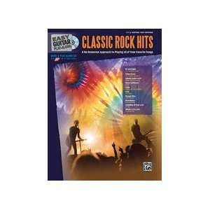 Easy Guitar Play Along: Classic Rock Hits   Bk+CD: Musical