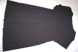 WOMENS BLACK POLYESTER COMFORT DRESS  JM COLLECTION  SIZE 3X