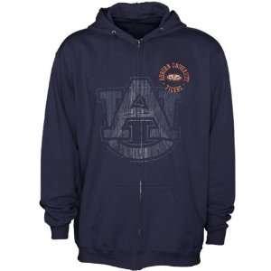Youth Navy Blue Zippity Full Zip Hoody Sweatshirt