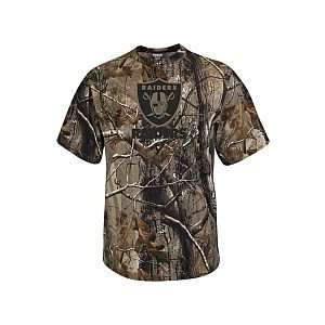 Reebok Oakland Raiders Realtree Camo T Shirt XX Large