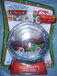 Disney Cars MATER SAVES CHRISTMAS HOLIDAY HOTSHOT McQ.