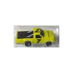 Lifelike   Chevy Pickup Truck #7 Yellow Slot Car (Slot