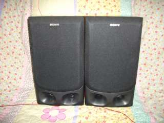 SONY SS G2000 BOOKSHELF STEREO SPEAKERS FREE SHIPPING! 027242677722