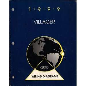 1999 Mercury Villager Wiring Diagrams Manual: Ford Motor