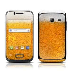Beer Bubbles Design Protective Skin Decal Sticker for Samsung Galaxy