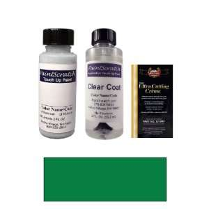 Oz. Green Pearl Metallic Paint Bottle Kit for 1997 Toyota Corolla