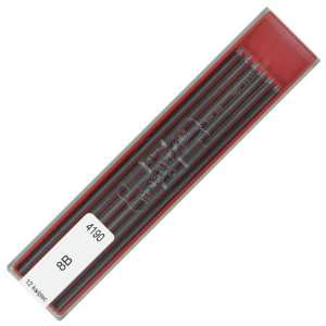 Koh i noor 4190 8B 2.0 mm Graphite Leads for Technical Drawing and