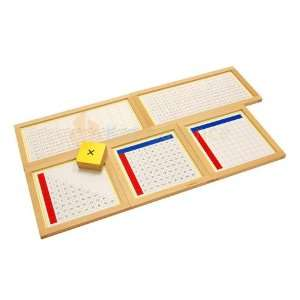 Kid Advance Montessori Multiplication Working Charts: Toys