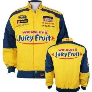 JP Montoya #42 Juicy Fruit Youth Cotton Twill Jacket